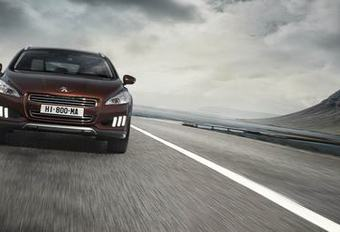 FRANSE ALLROAD: Peugeot 508 RXH #1