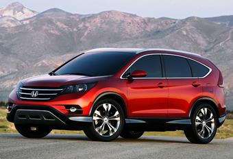 GENERATIE VIER: Honda CR-V Concept #1