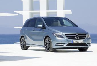 OOK GELEKT: Mercedes B #1