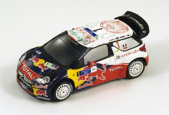IN HET KLEIN: Citroën DS3 WRC (Spark, 1/43) #1