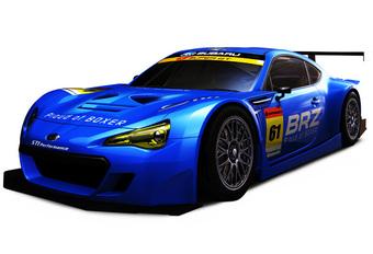 RACEN MAAR: Subaru BRZ GT300 #1