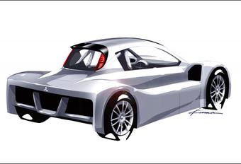 VOOR PIKES PEAK: Mitsubishi i-MiEV Prototype #1