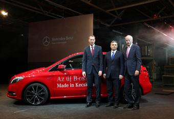 MADE IN HUNGARY: Mercedes B en meer #1