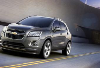 BROERTJE VOOR MOKKA: Chevrolet Trax #1