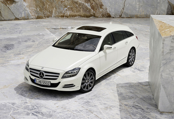 SEXY BACK: Mercedes CLS Shooting Brake (UPDATE) #1