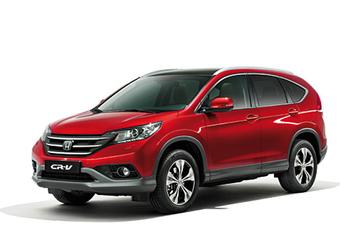 KLAAR VOOR EUROPA: Honda CR-V #1