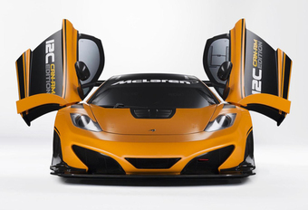 PARTY TIME: McLaren MP4-12C Can-Am Edition #1