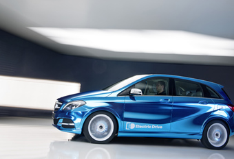 TE KOOP IN 2014: Mercedes B Electric Drive #1