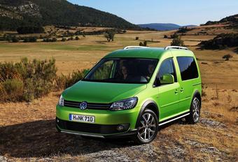 VELDCROSS: Volkswagen Caddy Cross #1