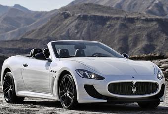 Maserati mixt GranCabrio met MC Stradale #1