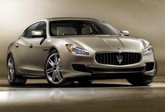 VOOR DE WERELD: Maserati Quattroporte #1