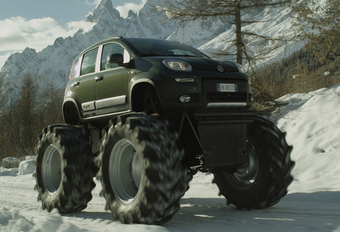 ALS MONSTERTRUCK: Fiat Panda 4x4 #1
