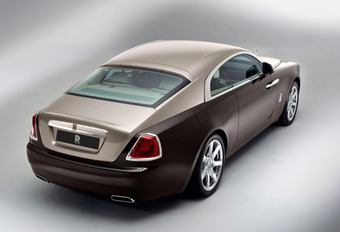 GHOST COUPE: Rolls-Royce Wraith #1