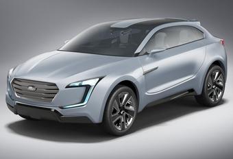 PROEFBALLONNETJE: Subaru Viziv Concept #1