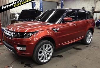 STRAKS IN NEW YORK: nieuwe Range Rover Sport // UPDATE #1