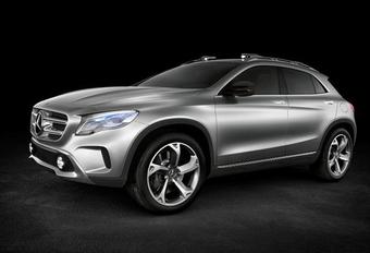 MET DE A VAN AVONTUUR: Mercedes GLA Concept #1