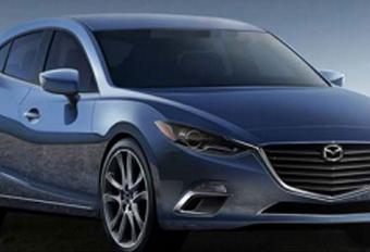 Nieuwe Mazda 3 gelekt #1