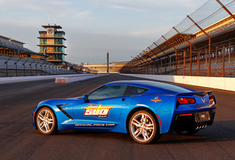 PACE CAR IN INDY 500: CHEVROLET CORVETTE STINGRAY #1