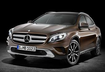 ALS BOSWACHTER: Mercedes GLA #1