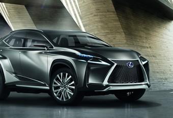KLEINERE RX: Lexus LF-NX #1