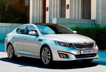 IN OPTIMA FORMA: Kia vijlt Optima bij #1