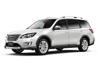 Plaats voor zeven: Subaru Crossover 7 #1
