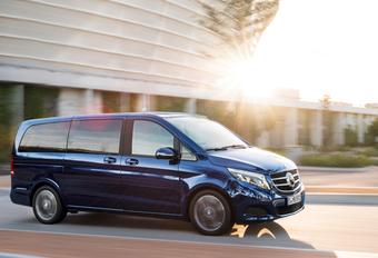 Mercedes V-Klasse vervoert passagiers in Duitse luxe #1