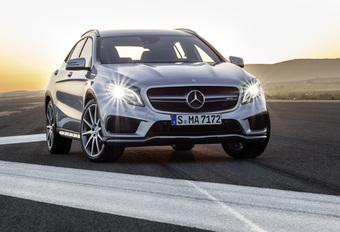 Mercedes GLA ook als snelle 45 AMG #1