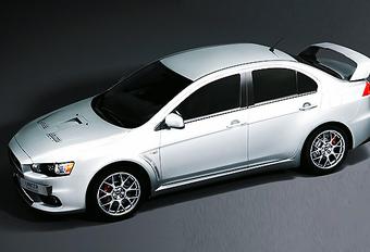 Dit is de ultieme evolutie van de Mitsubishi Lancer Evolution #1