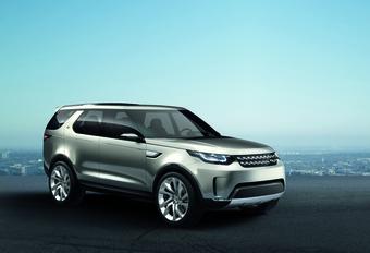 Land Rover Discovery Vision als voorbode nieuw subgamma #1