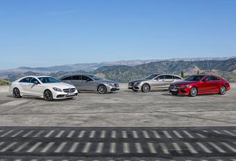Mercedes toont opgefriste CLS nu helemaal #1