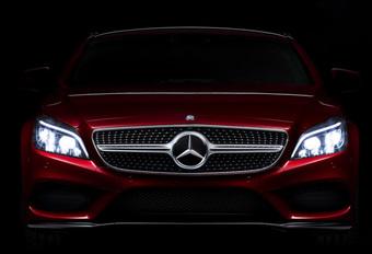 Mercedes 'plaagt' met slimme lichten van opgefriste CLS #1
