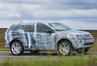Originele plaagstoot: 'doorzichtige' Land Rover Discovery Sport #1
