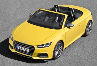Nieuwe Audi TT ook al als Roadster #1