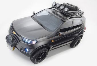 Chevrolet brengt nieuwe... Lada Niva #1