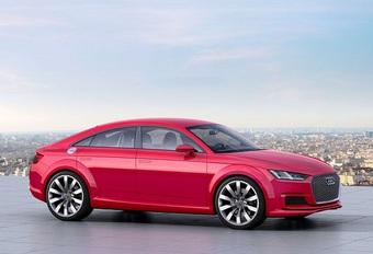 Echt te gek: Audi TT komt ook als vijfdeurs-Sportback #1