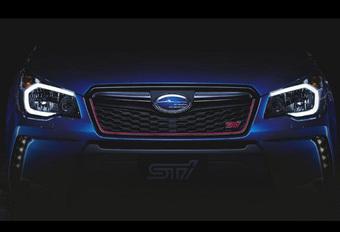 Subaru brengt Forester ook als STi met (wellicht) 300 pk #1
