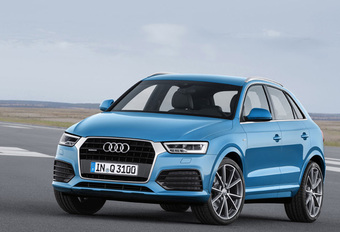 Facelift en zuinigere motoren voor Audi Q3 #1