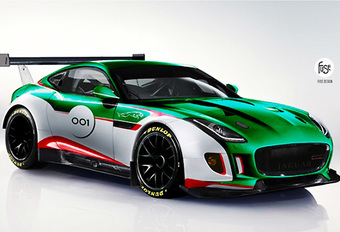 Jaguar maakt werk van F-Type GT3 #1