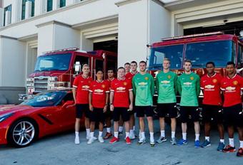 Man United-spelers laten hun Corvette staan #1