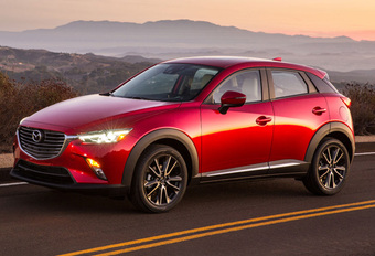 Mazda onthult sportieve CX-3 #1