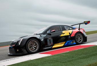 Cadillac ATS-V.R mag racen in FIA GT3 #1