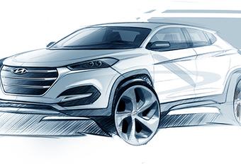 Opvolger Hyundai ix35 wordt terug Tucson #1