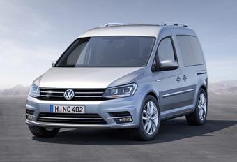 Handige Volkswagen Caddy in het nieuw #1