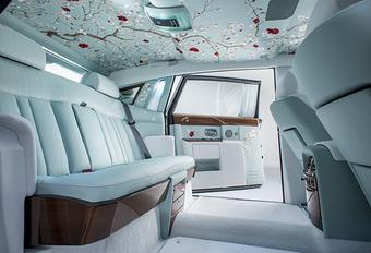 Rolls-Royce zet de bloemetjes buiten met Phantom Serenity #1