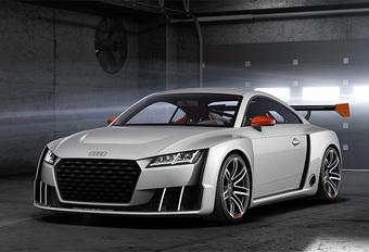Audi TT Clubsport pronkt met elektrische turbo  #1