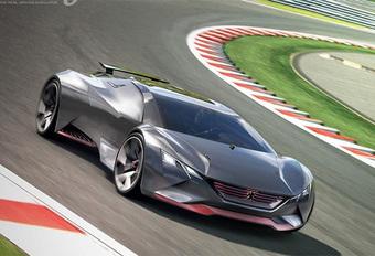 Enkel om mee te spelen: Peugeot Vision Gran Turismo #1