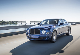 BENTLEY MULSANNE SPEED (2015) #1