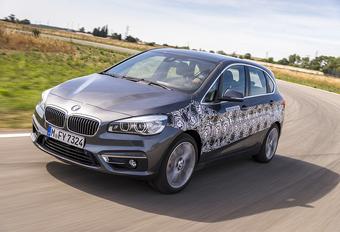 Prototypetest: BMW 2 Active Tourer eDrive (2015) #1