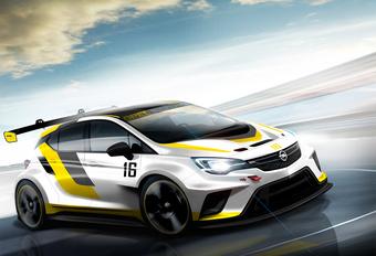 Nieuwe Opel Astra (bijna) klaar voor het circuit #1